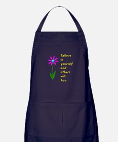 Believe in Yourself V3 Apron (dark)