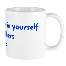 Believe in Yourself V3 Small Mug