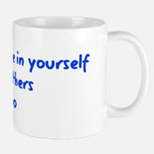 Believe in Yourself V3 Small Small Mug