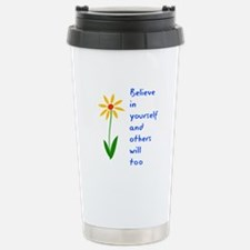 Believe in Yourself V3 Stainless Steel Travel Mug