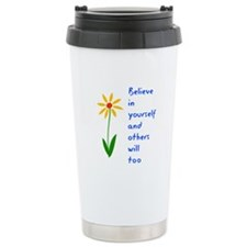 Believe in Yourself V3 Thermos Mug