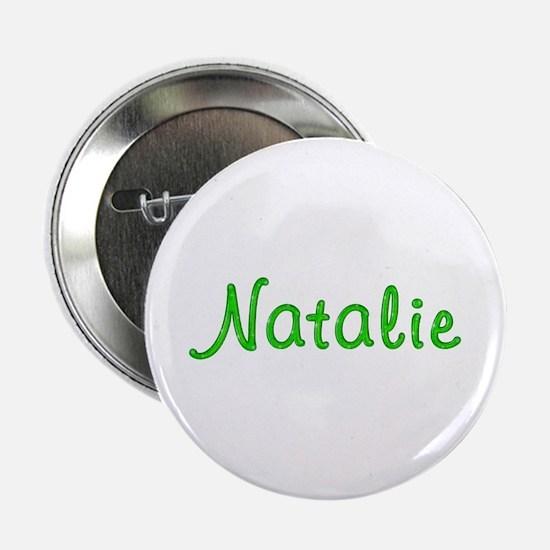 Natalie Glitter Gel Button