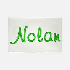 Nolan Glitter Gel Rectangle Magnet