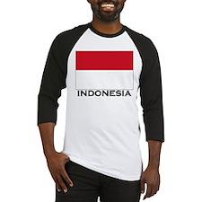 Flag of Indonesia Baseball Jersey