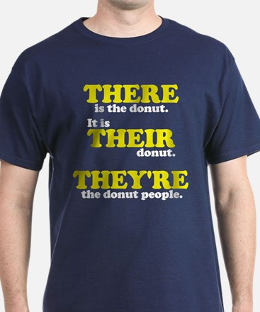 There Their They're - T-Shirt