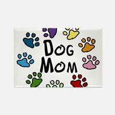 Dog Mom Rectangle Magnet
