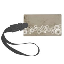 Classic Floral Luggage Tag