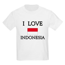 Flag of Indonesia Kids T-Shirt