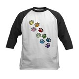 Animals paw prints Baseball Jersey