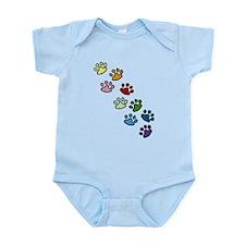 Paw Prints Infant Bodysuit