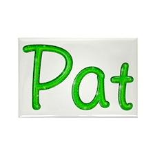 Pat Glitter Gel Rectangle Magnet