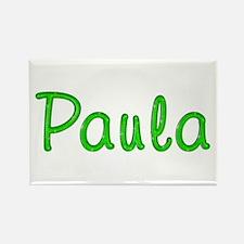 Paula Glitter Gel Rectangle Magnet