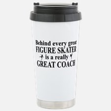 Unique Ice skate Stainless Steel Travel Mug