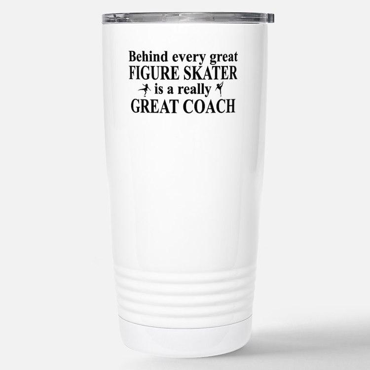 Cute Skating Travel Mug