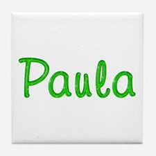 Paula Glitter Gel Tile Coaster