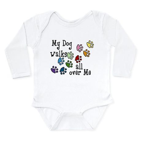 My Dog Long Sleeve Infant Bodysuit