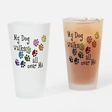 My Dog Drinking Glass
