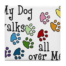 My Dog Tile Coaster