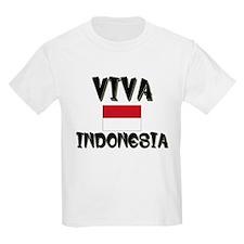 Flag of Indonesia Kids T-Shirt