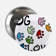 "Dog Lover 2.25"" Button"