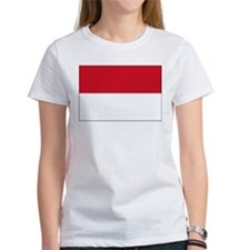 Indonesia Flag Picture Tee