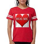 hugme-heart.jpg Womens Football Shirt