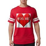 hugme-heart.jpg Mens Football Shirt