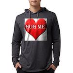 hugme-heart.jpg Mens Hooded Shirt