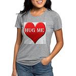 hugme-heart.jpg Womens Tri-blend T-Shirt