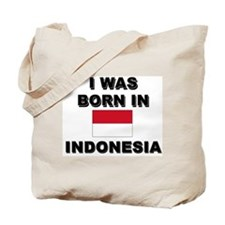 I Was Born In Indonesia Tote Bag