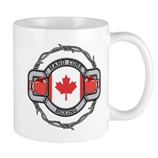 Canada Boxing Small Mugs