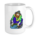 Miner Man Large Mug