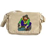 Miner Man Messenger Bag