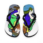 Miner Man Flip Flops