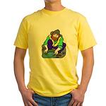 Miner Man Yellow T-Shirt