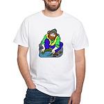 Miner Man White T-Shirt