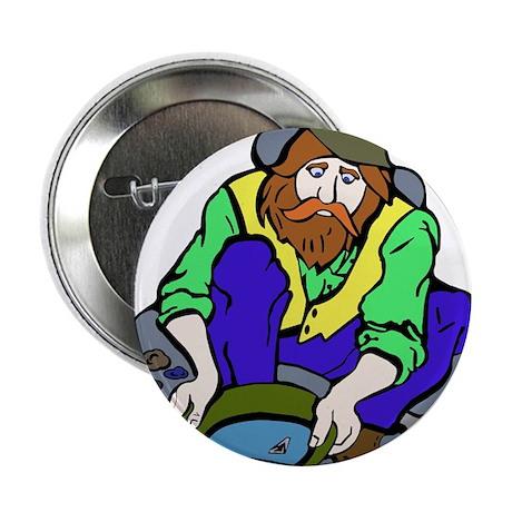 """Miner Man 2.25"""" Button"""