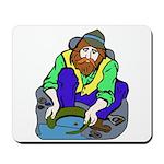 Miner Man Mousepad