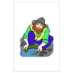 Miner Man Large Poster