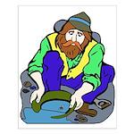 Miner Man Small Poster