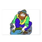 Miner Man Postcards (Package of 8)