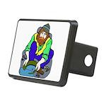 Miner Man Rectangular Hitch Cover