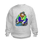 Miner Man Kids Sweatshirt