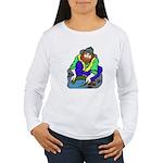Miner Man Women's Long Sleeve T-Shirt