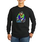 Miner Man Long Sleeve Dark T-Shirt