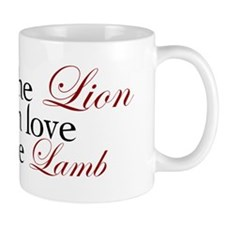 2-and so the lion fell in love with the lamb Mugs