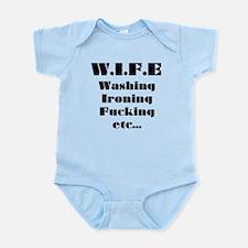 Wife Washing Ironing Fucking etc Infant Bodysuit