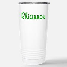 Rhiannon Glitter Gel Stainless Steel Travel Mug