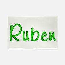 Ruben Glitter Gel Rectangle Magnet