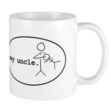 uncle-chuck-oval Mugs